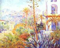 Claude Monet. Villas in Bordighera. 1884.