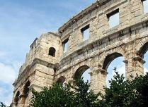 Coloseum in Pula, Croatia