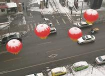 Chinese new year ballons