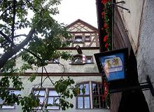 600 year old hotel in Rothenburg, Germany