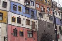 Hundertwaser house in Vienna