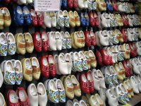 Wooden shoes, Amsterdam