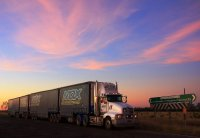 Semitrailer and subset