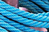 A Rope Tied to a Boat