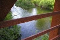 A fence and a river