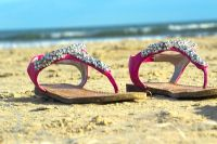 Sandals in the Sand