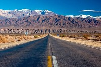 Scenic road, Northern Argentina
