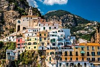 View of Amalfi. Italy