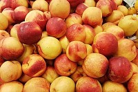 Fresh Tasty Peaches