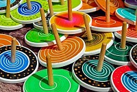 Wooden Roundabout Toys