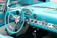 Ford Thunderbird Dashboard