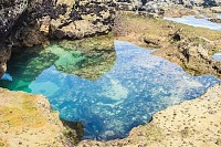 Beautiful Clear Sea Pool