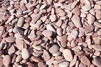 Color Beach Stones