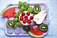 Perfect Healthy Fruits Plate
