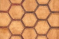 Hexagon Suede Fabric