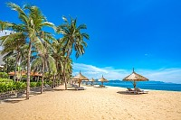 Vietnam, Nha Trang tropical coastal resort