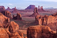 Hunts Mesa navajo tribal majesty place Arizona US