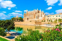 La Seu at Palma de Mallorca islands, Spain