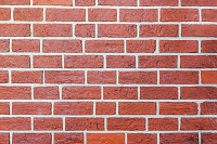 Red grunge brick wall background