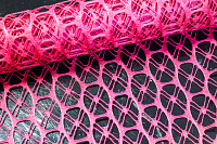 Colorful purple decorative net cloth for decoratin