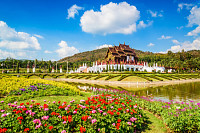 Ho Kham Luang at Royal Park Rajapruek, traditional