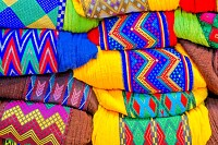 Coloured Textile Lot