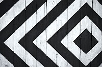 Black and White Wooden Board