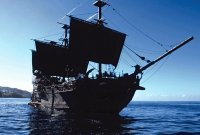 The Black Pearl - Captained by Jack Sparrow - POTC