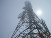 Tower on Top of Mt. Scenery, Saba