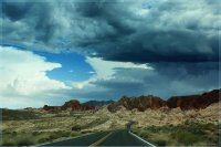 In the Valley of Fire,Nevada