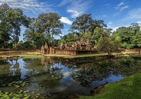 The Temple of Banteay Srei, Cambodia