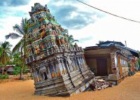 Tsunami Damage to Temples