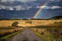 Rainbow road Scotland