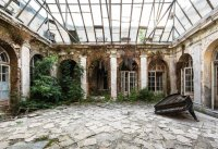 Poland Palace reclaimed by nature