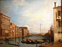 Canaletto Grand canal Venise