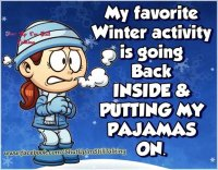 Funny Winter Quote- Ha Ha Ha