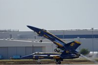 Blue Angel Taking off