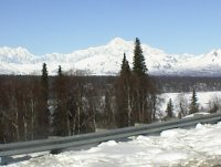 Mt. McKinley from Parks Hiway