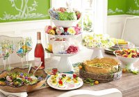 Beautiful Easter Buffet Table