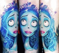 tattoo Corpse bride
