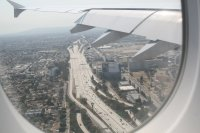 descending to L.A.  CA