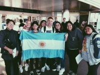 olly alexander and his fans in argentina