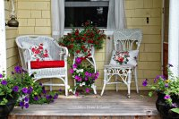 Charming Little Summer Porch