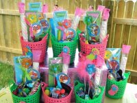 Pool Party Favor Baskets