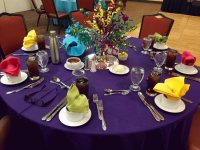 Colorful Fiesta Table Setting