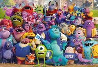 monsters university, disney pixar, cartoon