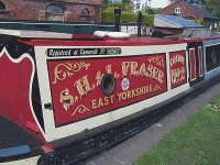 Narrow Boat at Shardlow
