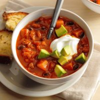 Butternut Squash Chili Soup