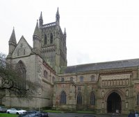 worcester cathedral (home town )