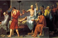 JACQUES LOUIS DAVID (SOCRATES)